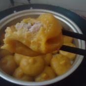 地瓜芋头蒸饼