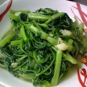 清炒竹叶菜