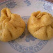 胡萝卜尖椒馅玉米面包子