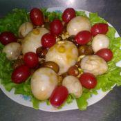 鵪鶉雞蛋炒堅果