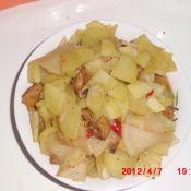 土豆萝卜炖鸡