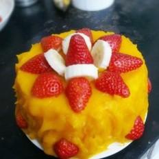 木糖醇南瓜蛋糕