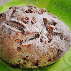 核桃燕麦包