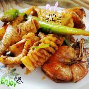 香辣鱿鱼虾
