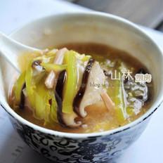 西红柿酸辣汤的做法