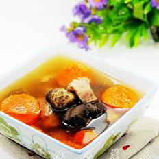 胡萝卜冬菇瘦肉汤