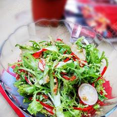 素拌苦苣菜