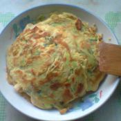 北瓜鸡蛋面饼