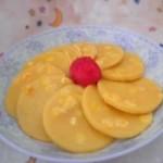 炼乳玉米饼