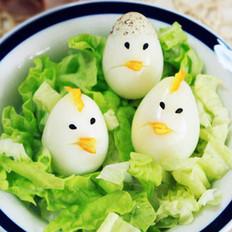 可爱的鹌鹑蛋