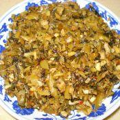 竹笋雪里蕻腌菜