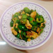 柿子椒炒鸡蛋