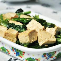 油麦菜烧豆腐