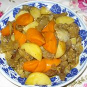 咖喱土豆红萝卜烧牛腩