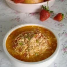 西红柿菜豆腐