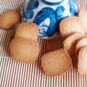 奶香酥饼干