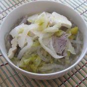 猪肉酸菜炖粉条子