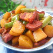 四季豆土豆炖肉