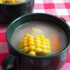 玉米胡萝卜鲫鱼汤