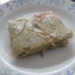 葱花鸡蛋火腿饼