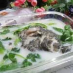 奶香石斑丝瓜汤