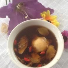 枸杞生姜红糖蒸蛋