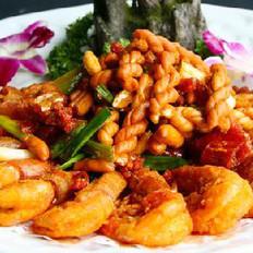 香酥麻花虾