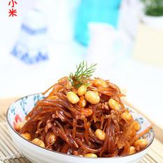 黄豆炒咸菜