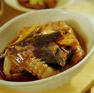 鱼干琵琶虾的做法