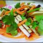 凉拌豆干芹菜胡萝卜