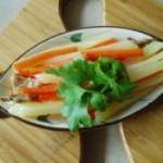 红萝卜炒土豆