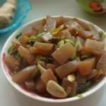 泡椒炒魔芋豆腐