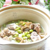 猪骨毛豆煲