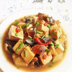 皮蛋香辣豆腐