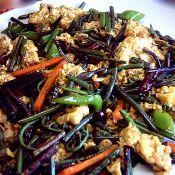 辣炒蕨菜雞蛋