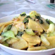 油菜土豆片