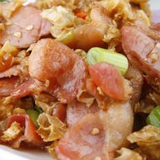 白辣椒炒风吹肉
