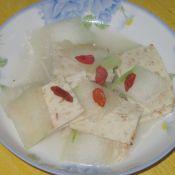 虾糕炒冬瓜