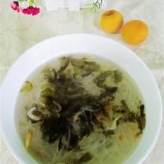 虾皮粉丝汤