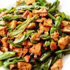 豆豉尖椒油豆腐