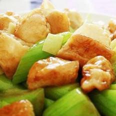 油条烧丝瓜