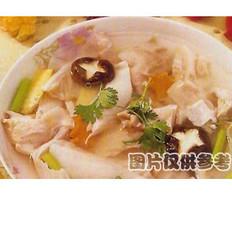 口蘑泡肚汤