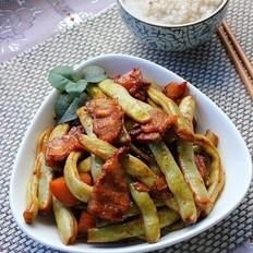 炖芸豆土豆肉片