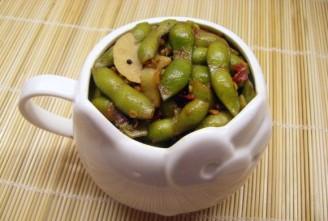 香辣毛豆的做法
