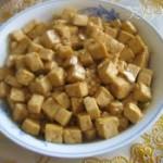 蚝油豆腐丁