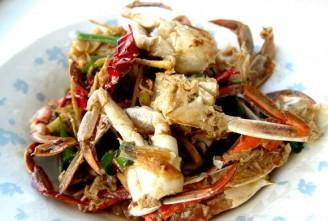 麻辣炒蟹的做法