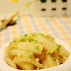 虾酱炒冬瓜