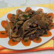 瘦肉炒玉兰片