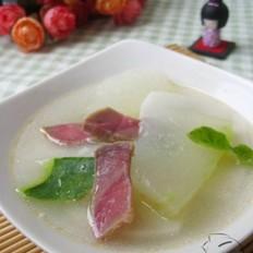 火腿冬瓜年糕汤