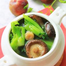 香菇芥菜汤